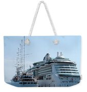 The Ships Are In Weekender Tote Bag
