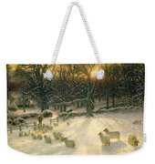 The Shortening Winters Day Is Near A Close Weekender Tote Bag