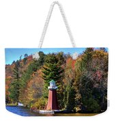 The Shoul Point Lighthouse Weekender Tote Bag