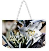 The Shy Desert Lily Weekender Tote Bag
