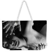 The Silent Cry - Self Portrait Weekender Tote Bag