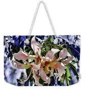 The Silk Flowers Weekender Tote Bag