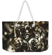 The Silver Strawman Weekender Tote Bag