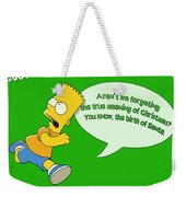 The Simpsons Weekender Tote Bag