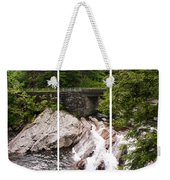 The Sinks Smoky Mountains Triptych Weekender Tote Bag