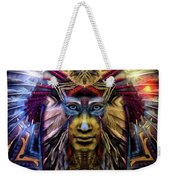 The Sioux Spirit - The Plumed Lion Weekender Tote Bag