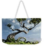 The Sitting Tree Weekender Tote Bag
