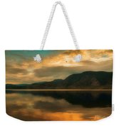 The Skaha Sunrise Weekender Tote Bag