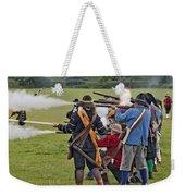 The Skirmish Begins Weekender Tote Bag
