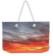 The Sky Is Smoking Hot In Widescape Weekender Tote Bag