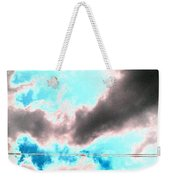 the sky...She called to me  Weekender Tote Bag