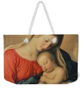 The Sleeping Christ Child Weekender Tote Bag by Il Sassoferrato