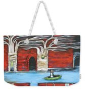 The Small Boat Weekender Tote Bag