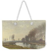 The Small Branch Of The Seine At Argenteuil Weekender Tote Bag