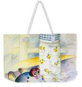 The Smoking Fish Weekender Tote Bag