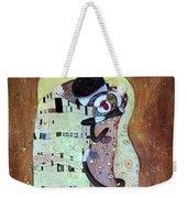 The Smooch Weekender Tote Bag