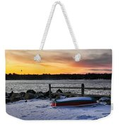 The Snow Boat Weekender Tote Bag