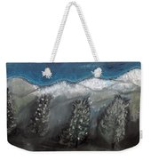The Snow Weekender Tote Bag