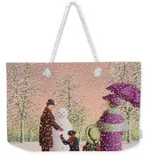 The Snowman Weekender Tote Bag