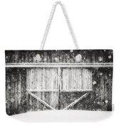 The Snowy Barn II Weekender Tote Bag