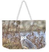 The Snowy Owl Weekender Tote Bag