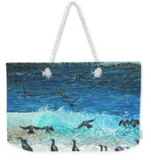 The Sociable Seagull Weekender Tote Bag