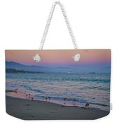 The Soft Side Of Sunset Weekender Tote Bag