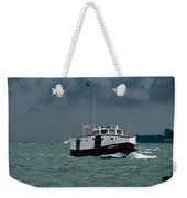 The Sonny S Returning From Lonz Winery On Middle Bass Island Weekender Tote Bag