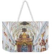 Lucerne's Jesuit Church  Weekender Tote Bag