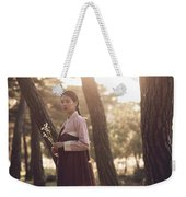 The Sound Of A Flower Weekender Tote Bag