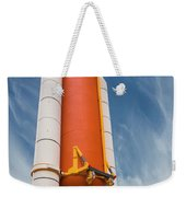 The Space Shuttle Launch System Weekender Tote Bag by Jim Thompson