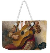 The Spanish Guitarist Weekender Tote Bag