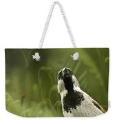 The Sparrow Weekender Tote Bag