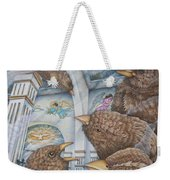The Sparrows Of San Elizario Weekender Tote Bag