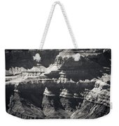 The Spectacular Grand Canyon Bw Weekender Tote Bag