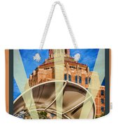 The Spirit Of Asheville Weekender Tote Bag
