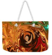 The Spirit Of Christmas - Abstract Art Weekender Tote Bag