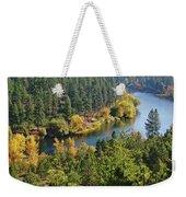 The Spokane River  Weekender Tote Bag