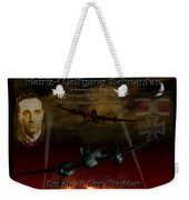The Spook Of St. Trond Weekender Tote Bag