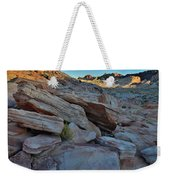 The Spotlight Fades At Valley Of Fire Weekender Tote Bag