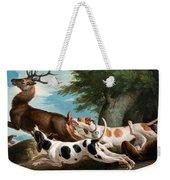 The Stag Hunt Weekender Tote Bag