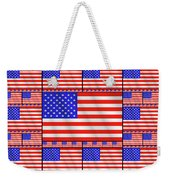 The Stars And Stripes 2 Weekender Tote Bag