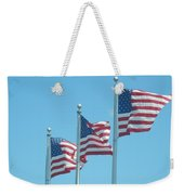 The Stars And Stripes Weekender Tote Bag