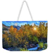 The Stars Of Autumn Weekender Tote Bag