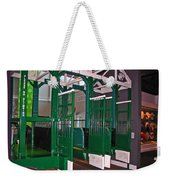 The Starting Gate Display In The Kentucky Derby Museum Weekender Tote Bag