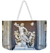 The Statue Of Laocoon And His Sons At The Vatican Museum Weekender Tote Bag