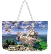 The Statue Of The Rock Weekender Tote Bag