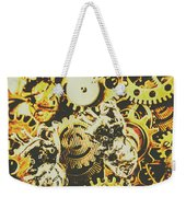 The Steampunk Heart Design Weekender Tote Bag
