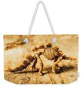 The Stegosaurus Art In Form Weekender Tote Bag
