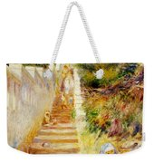 The Steps In Algiers Weekender Tote Bag by Pierre Auguste Renoir